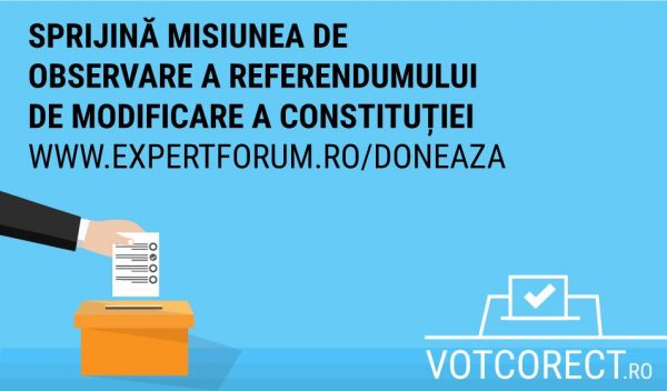 monitorizare referendum modificarea consitutiei
